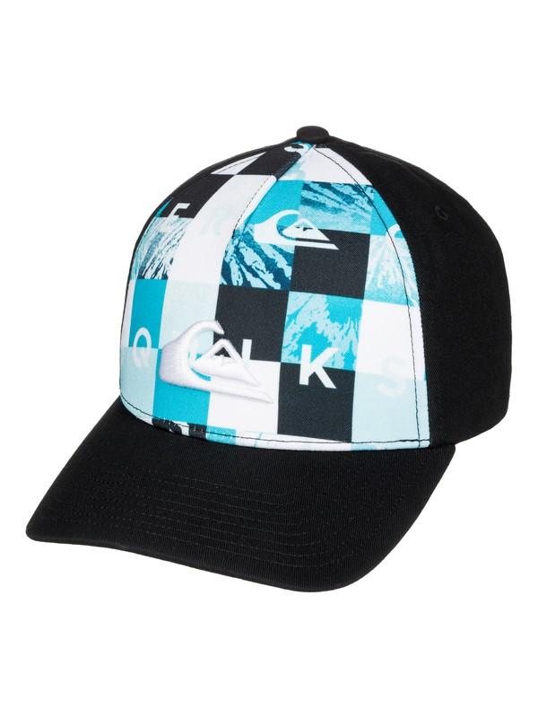 0 Pintails - Snapback Cap Blue AQBHA03130 Quiksilver