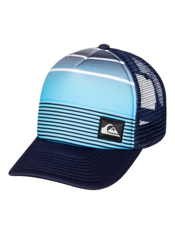 0 Boy's 8-16 Striped Out Trucker Hat  AQBHA03161 Quiksilver