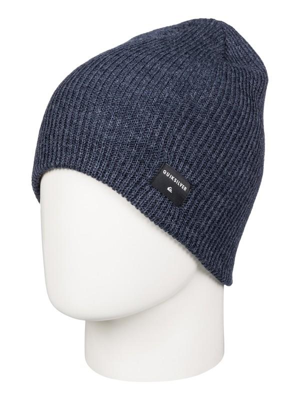 0 Cushy Slouch - Bonnet long Bleu AQBHA03178 Quiksilver