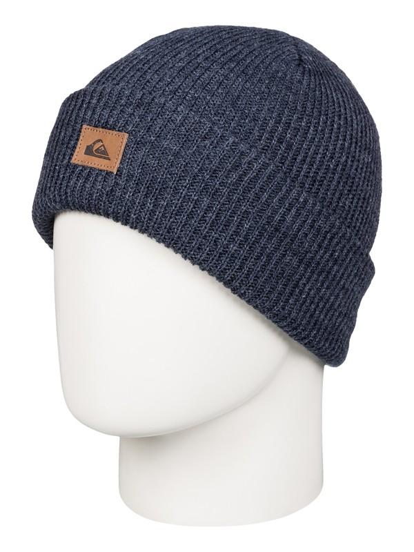 0 Performer - Bonnet à revers Bleu AQBHA03198 Quiksilver