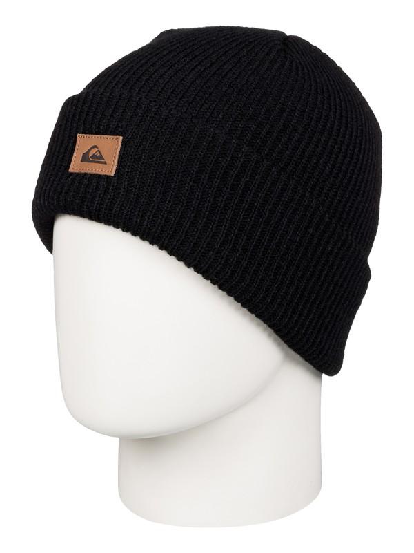 0 Performer - Bonnet à revers Noir AQBHA03198 Quiksilver
