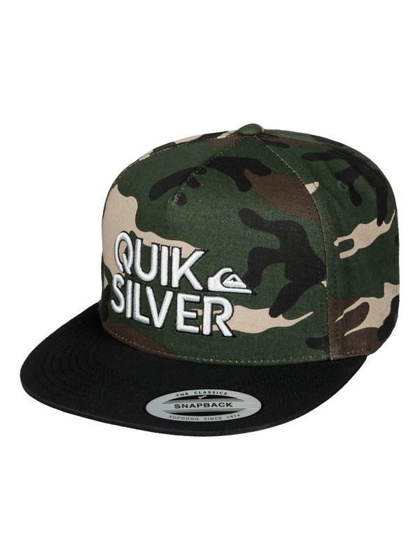 0 Boy's 8-16 Overhead Hat  AQBHA03204 Quiksilver