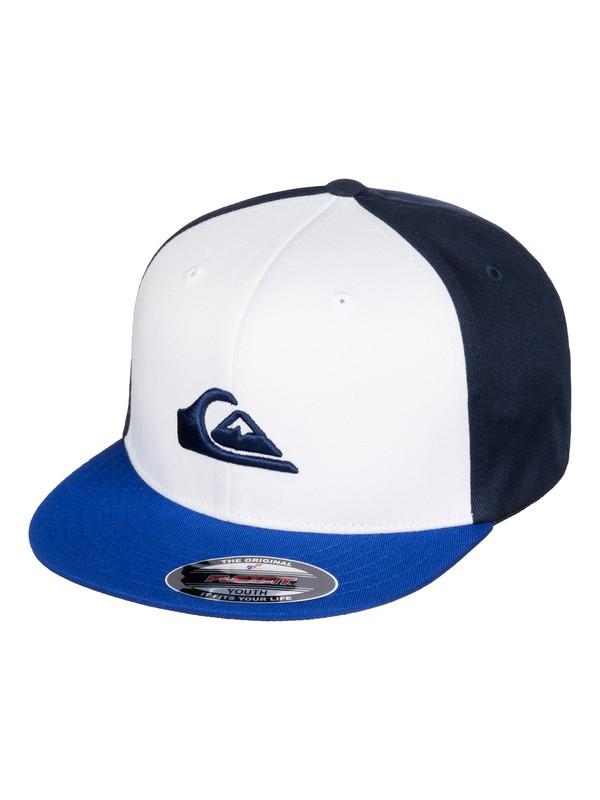 0 Stuckles - Flexfit Cap Blau AQBHA03218 Quiksilver