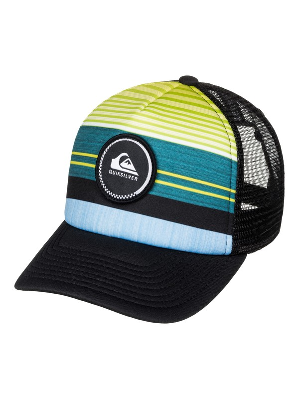 0 Striped Vee - Trucker Cap  AQBHA03220 Quiksilver