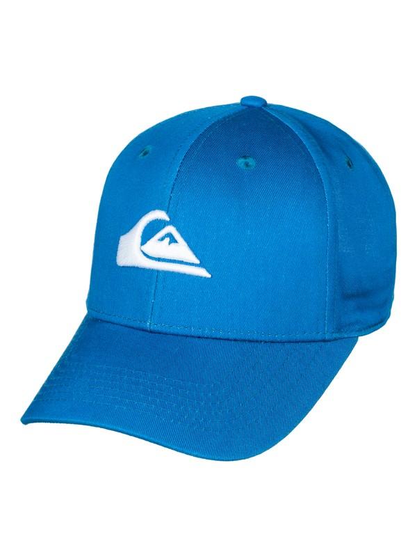 0 Decades - Snapback Cap Blue AQBHA03224 Quiksilver