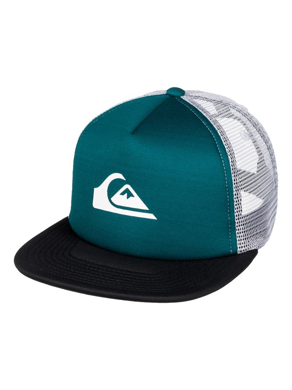 0 Boy's 8-16 Snap Addict Trucker Hat  AQBHA03241 Quiksilver