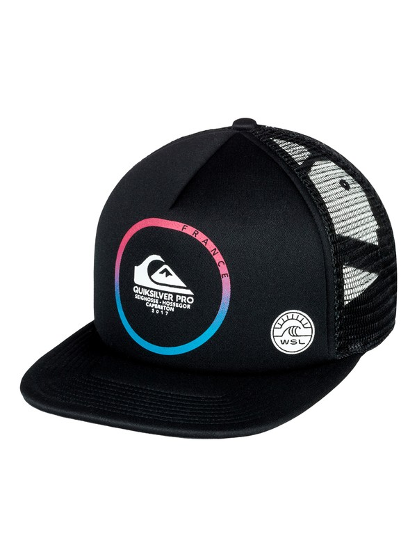 0 Quiksilver Pro France 2017 Youth - Trucker Cap  AQBHA03264 Quiksilver