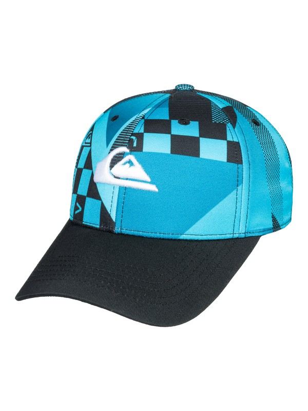0 Tailwind - Cappellino Snapback Blue AQBHA03278 Quiksilver