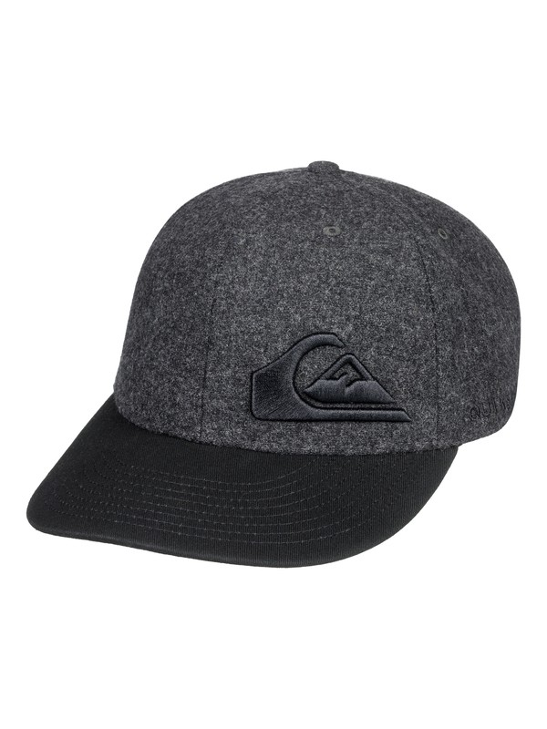 0 Final - Flexfit Cap Black AQBHA03280 Quiksilver