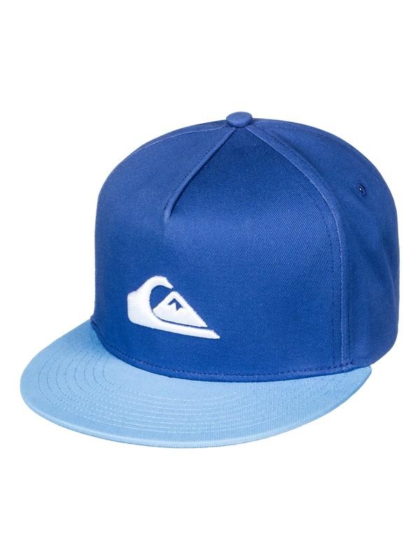 0 Stuckles Snap - Casquette snapback Bleu AQBHA03282 Quiksilver
