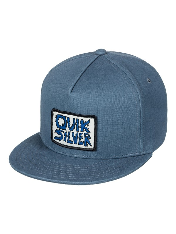 0 Smorgasborg - Snapback Cap Blue AQBHA03290 Quiksilver