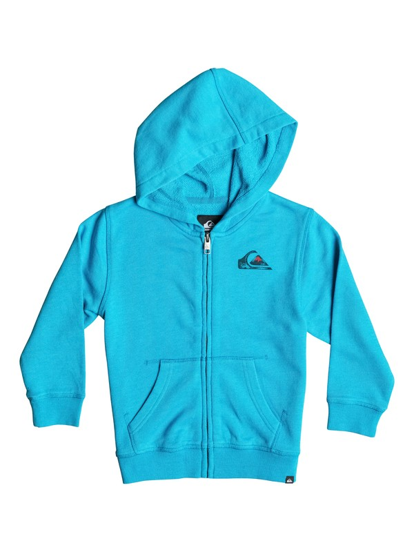 0 Boys 8-16 Sea Washed Zip-Up Hoodie Blue AQBJK03000 Quiksilver