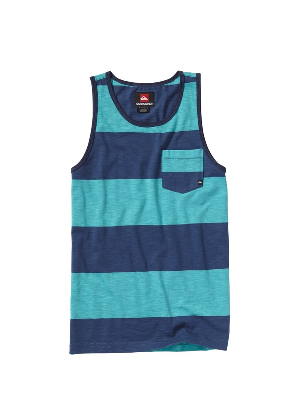 0 Boys 8-16 Block Point Tank Top  AQBKT00053 Quiksilver