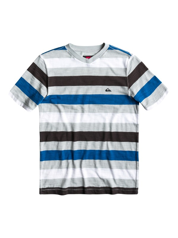 0 Boys 8-16 Tower Rip V-Neck T-Shirt  AQBKT00059 Quiksilver