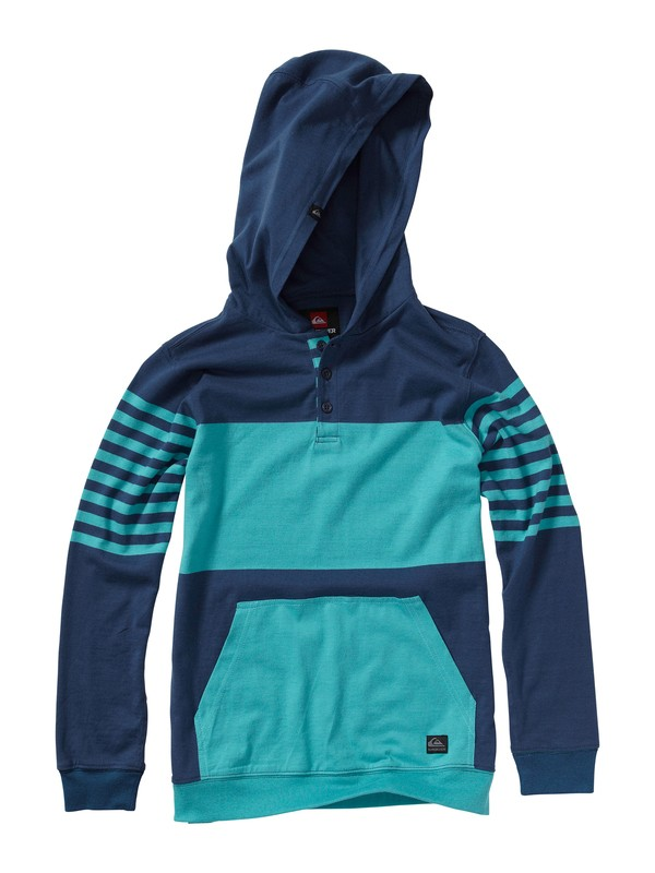 0 Boys 8-16 Game On Hooded Pullover  AQBKT00064 Quiksilver