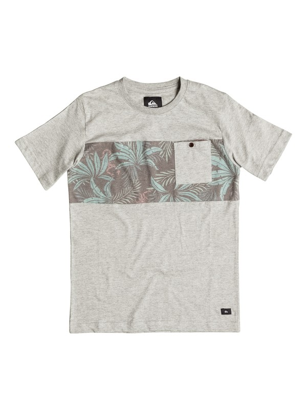 0 Boys 8-16 Upton  Pocket T-Shirt  AQBKT03017 Quiksilver