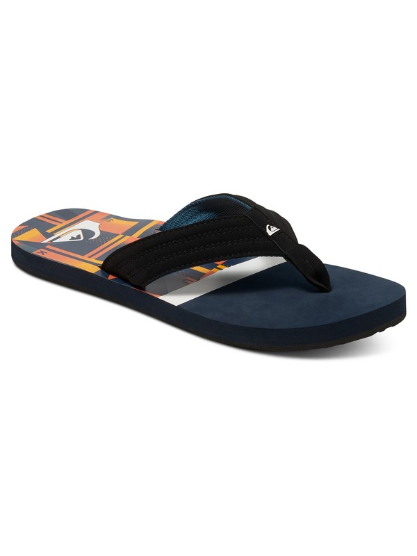 0 Basis - Tongs Bleu AQBL100009 Quiksilver