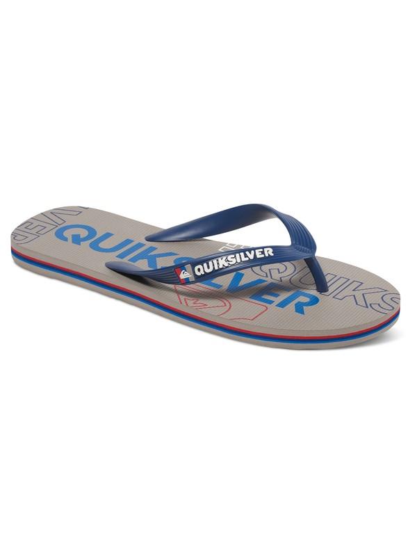 0 Molokai Nitro - Tongs Bleu AQBL100015 Quiksilver