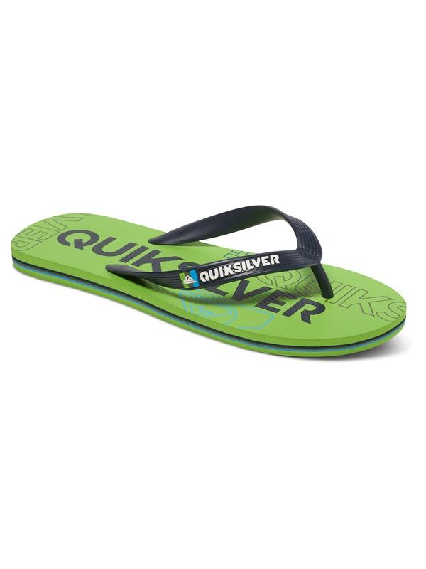 0 Molokai Nitro - Flip-Flops Green AQBL100015 Quiksilver
