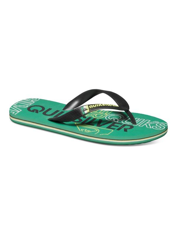0 Boy's 8-16 Molokai Nitro Sandals  AQBL100015 Quiksilver