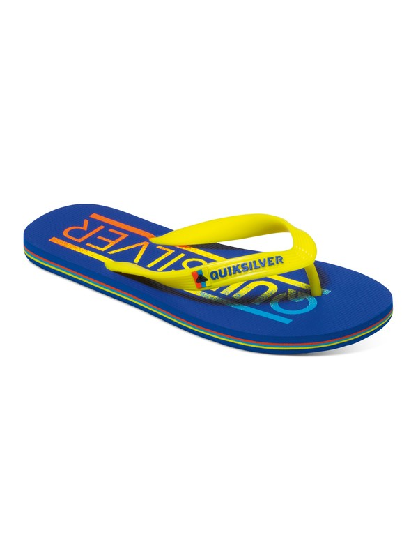 0 Molokai Wordmark - Tongs Bleu AQBL100039 Quiksilver