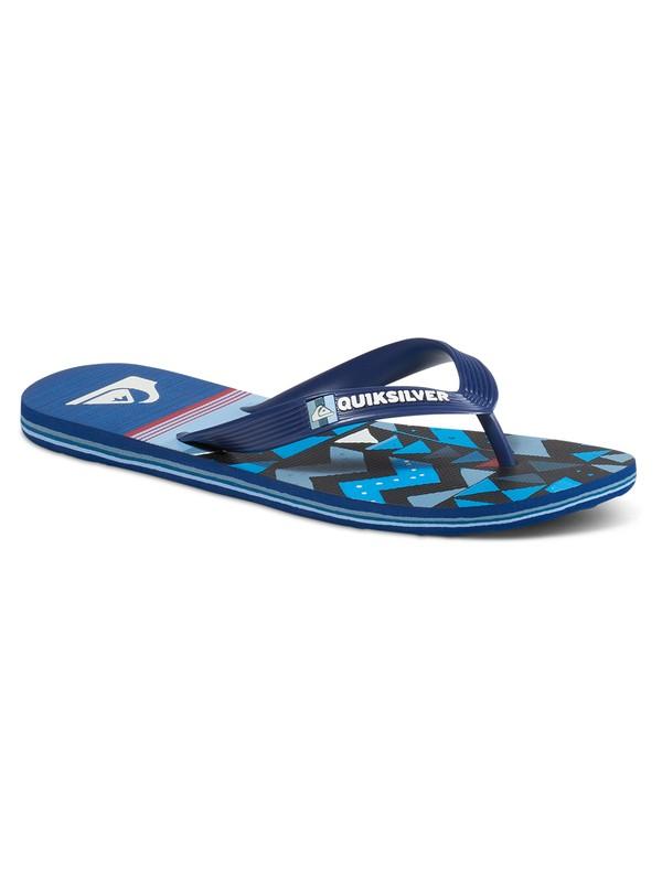 0 Molokai Slab Lapu - Slippers Blue AQBL100199 Quiksilver