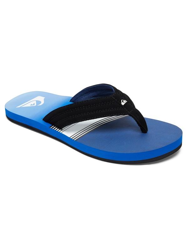 0 Boy's 8-16 Basis Sandals Blue AQBL100224 Quiksilver