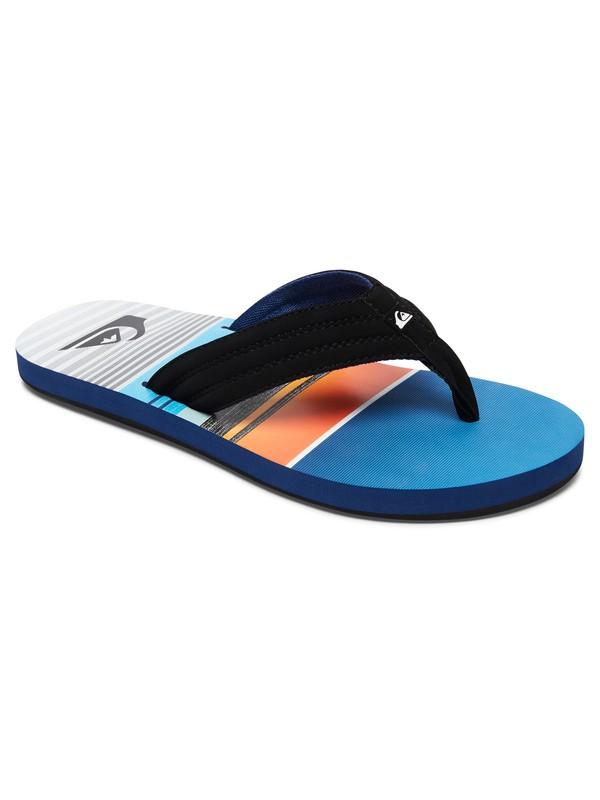 0 Boy's 8-16 Basis Sandals Black AQBL100224 Quiksilver