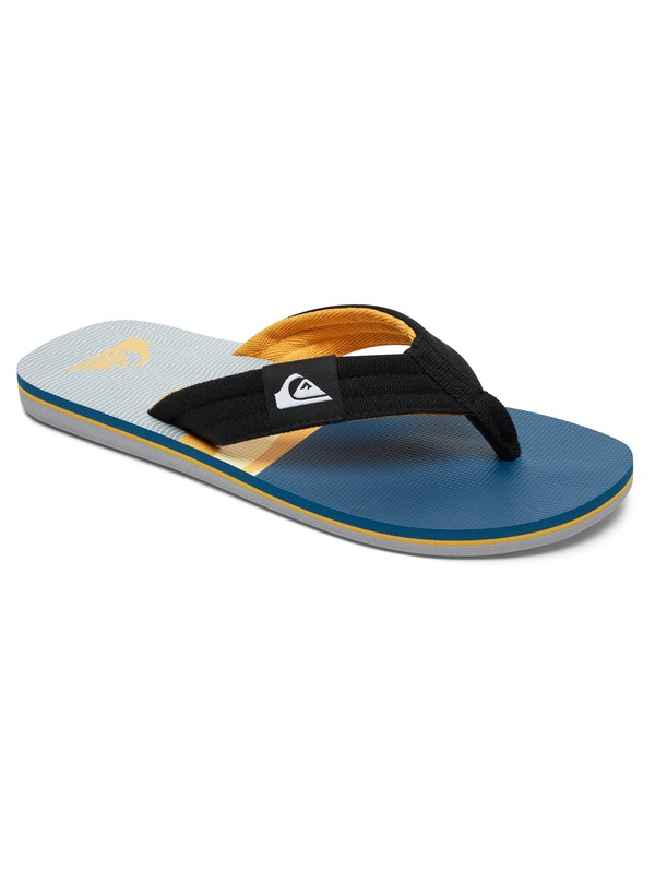 0 Boy's 8-16 Molokai Layback Sandals Multicolor AQBL100225 Quiksilver