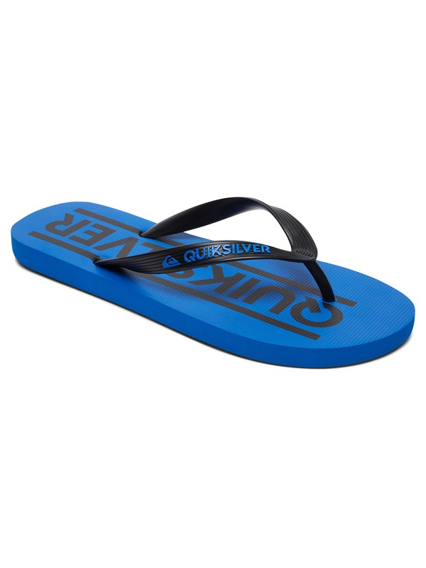 0 Java Wordmark - Teenslippers Black AQBL100260 Quiksilver