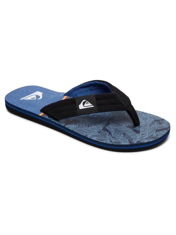 0 Molokai Layback - Sandals Black AQBL100261 Quiksilver