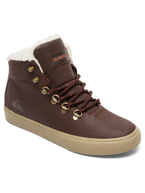 0 Jax - Mid-Top Shoes Brown AQBS100003 Quiksilver