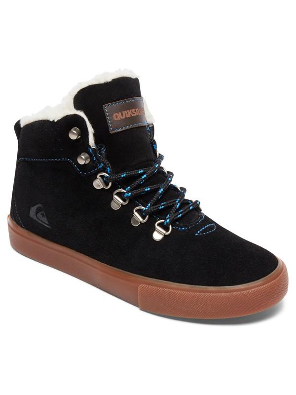 0 Jax - Chaussures mi-Hautes Noir AQBS100003 Quiksilver