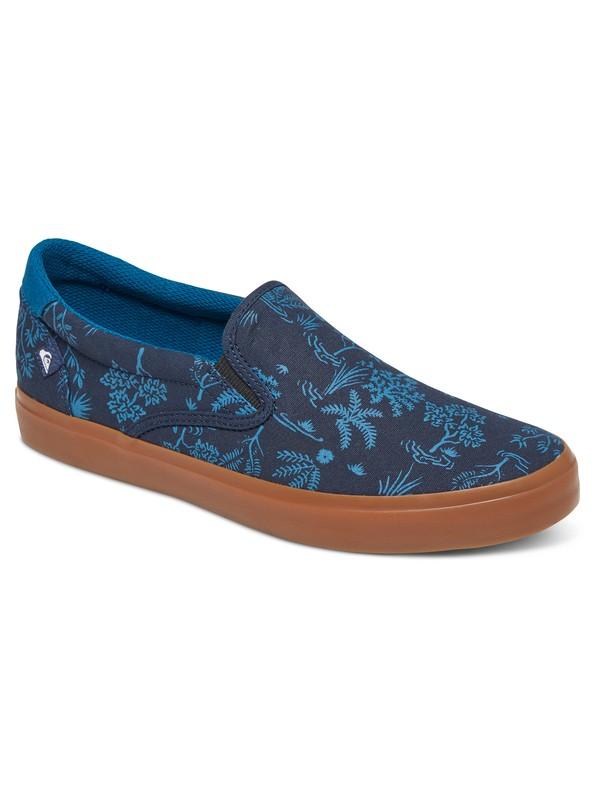 0 Shorebreak - Chaussures Slip-On Bleu AQBS300019 Quiksilver