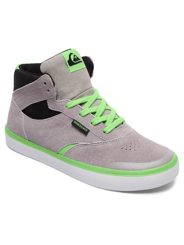 0 Burc - Schuhe Grau AQBS300027 Quiksilver