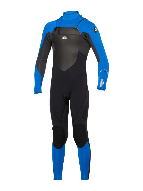 0 Boys Syncro 4/3 Chest Zip Wetsuit  AQBW100008 Quiksilver