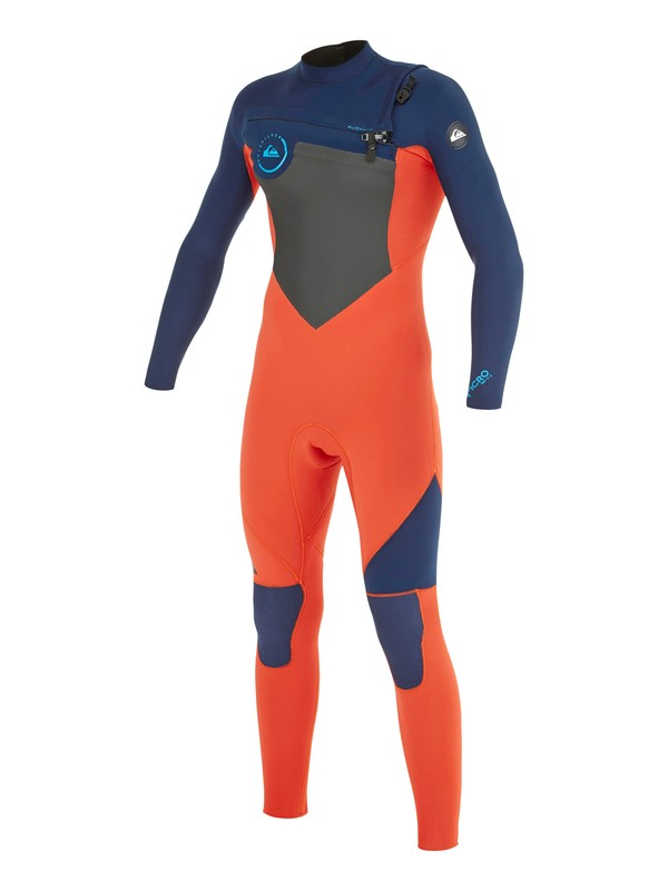0 Boys 8-16 Syncro GBS 3/2mm Back Zip Wetsuit  AQBW103015 Quiksilver