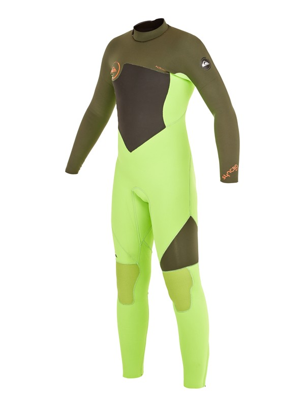 0 Boys 8-16 Syncro GBS 3/2mm Back Zip Wetsuit  AQBW103016 Quiksilver