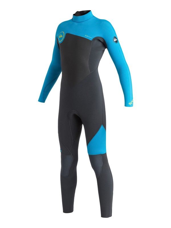 0 Boys 8-16 Syncro GBS 5/4/3mm Back Zip Wetsuit  AQBW103022 Quiksilver