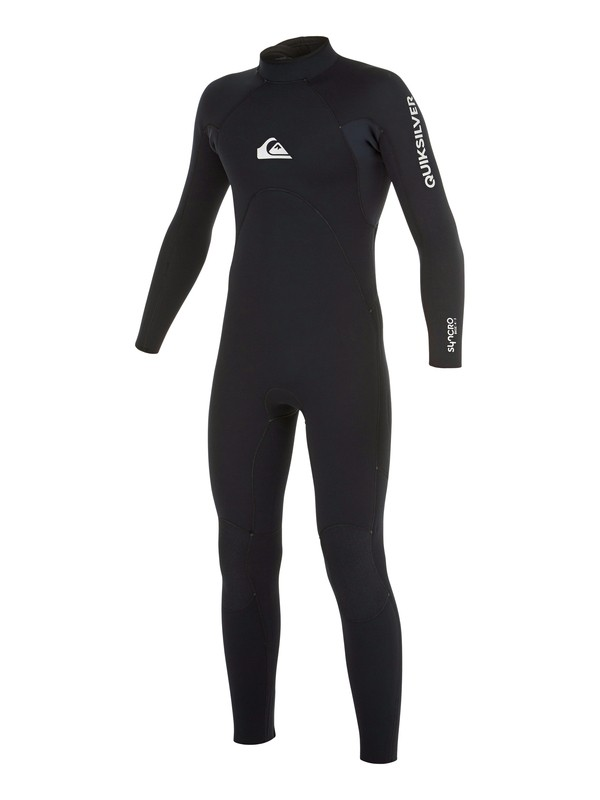 0 Boys 8-16 Syncro Base GBS 4/3mm  Back Zip Wetsuit  AQBW103032 Quiksilver