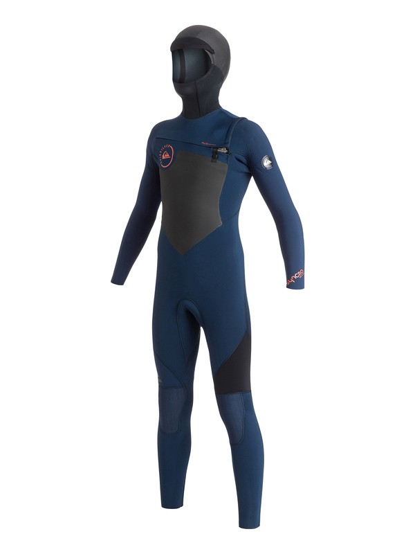 0 Boys 8-16 Syncro GBS 5/4/3mm Chest Zip Wetsuit  AQBW203002 Quiksilver