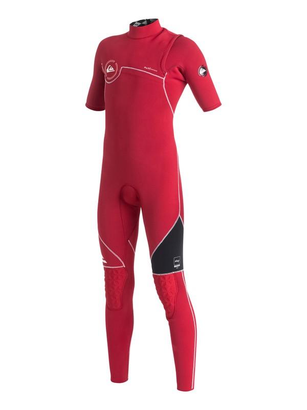 0 Boys 8-16 AG47 Zipperless 2/2mm  Short Sleeve Wetsuit  AQBW303001 Quiksilver