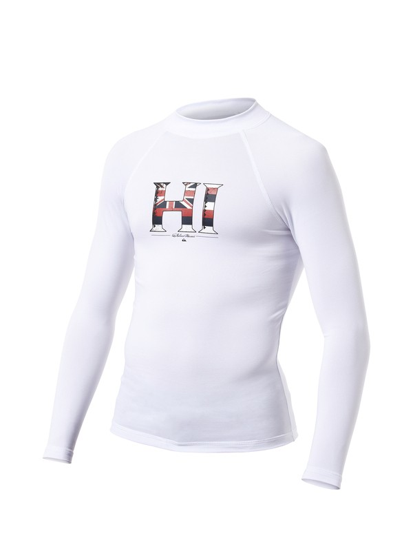 0 Boys Legend Long Sleeve Rashguard  AQBWR00026 Quiksilver