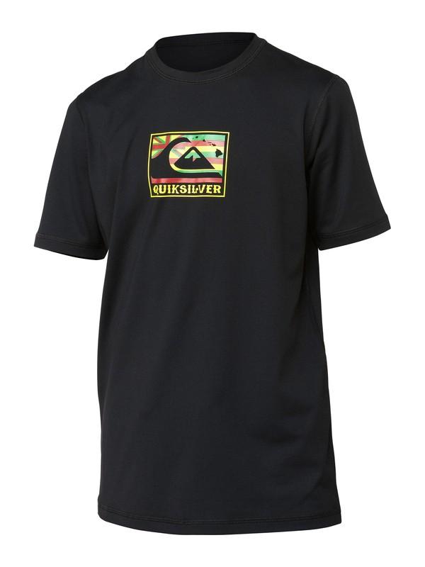 0 Boys Pride Short Sleeve Rashguard  AQBWR00055 Quiksilver