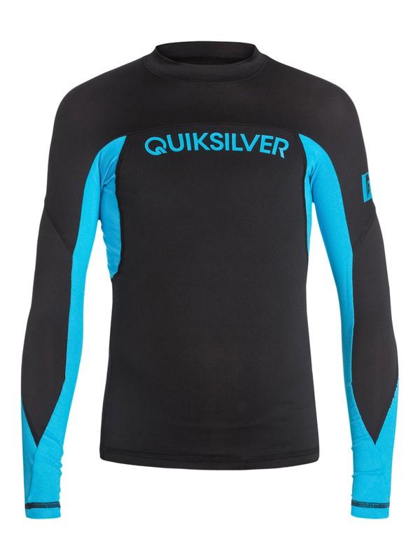 0 Performer Long Sleeve Rash Vest  AQBWR03003 Quiksilver
