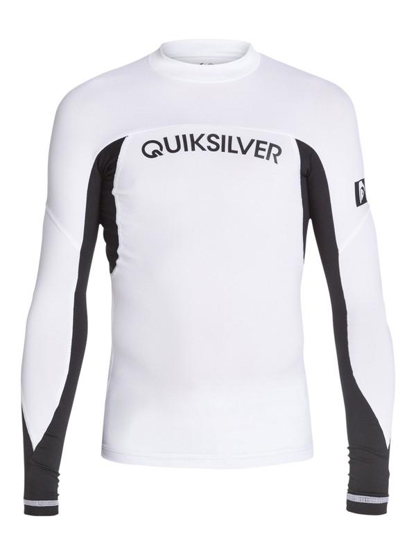 0 Boys 8-16 Performer Long Sleeve Rashguard  AQBWR03003 Quiksilver