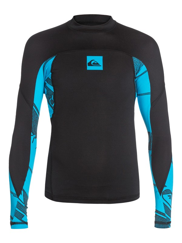 0 Sublimator - Long Sleeve Rash Vest  AQBWR03007 Quiksilver