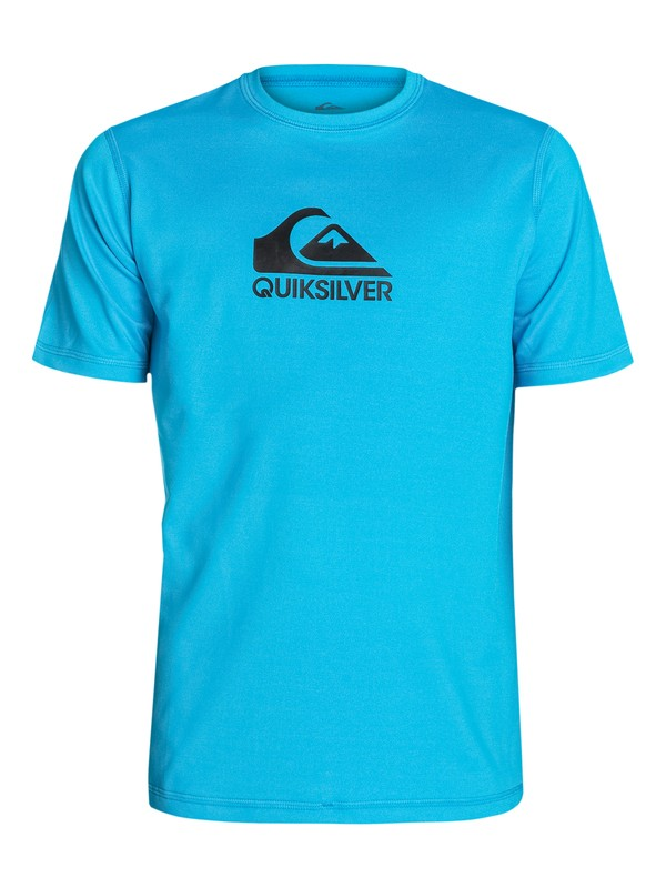 0 Solid Streak Short Sleeve - Lycra manches courtes  AQBWR03009 Quiksilver