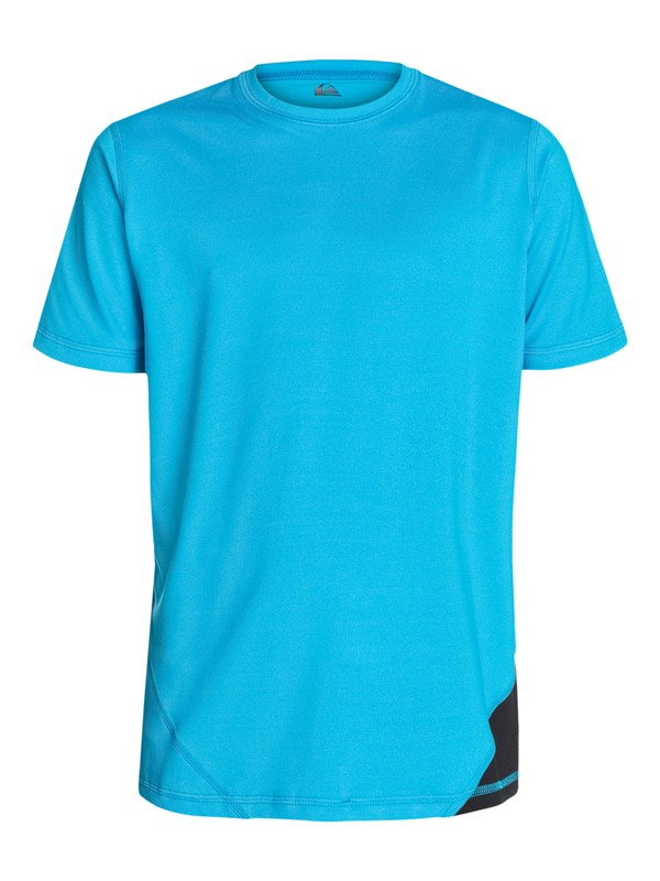 0 Boys 8-16 New Sound Short Sleeve Rashguard  AQBWR03011 Quiksilver