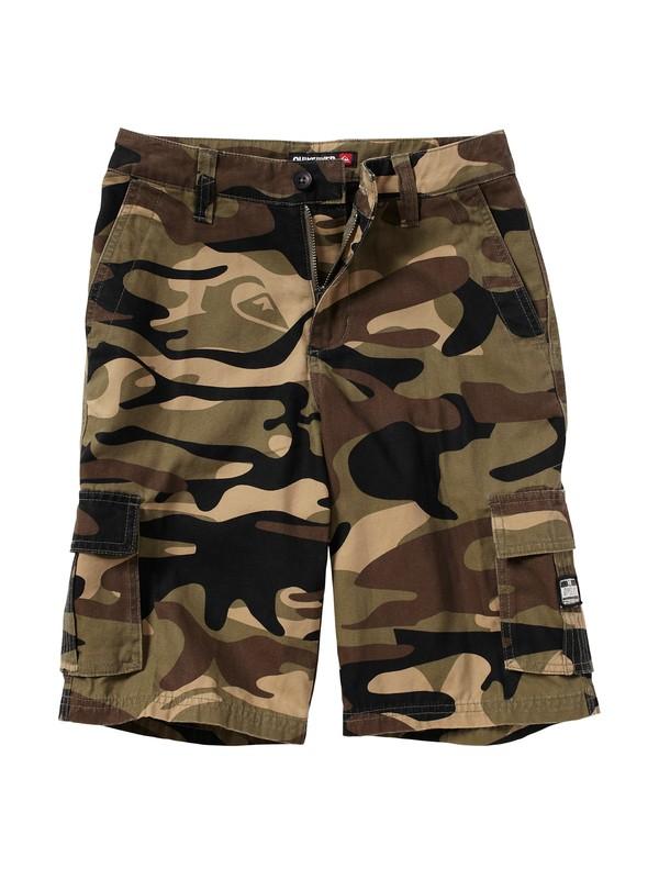 0 Boys 8-16 Sue Fley Camo Shorts  AQBWS00020 Quiksilver